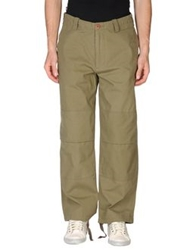 Addict Casual Pants Military Green