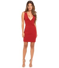 Dsquared Viscose Compact Dress Red