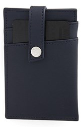 Want Les Essentiels Men's 'Kennedy' Money Clip Wallet Blue Navy