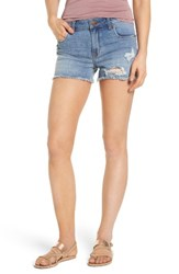 Sts Blue Women's Ripped Denim Shorts Barclay