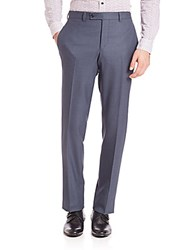 Saks Fifth Avenue Ford Modern Fit Dress Pants Blue