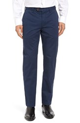 Ted Baker Men's Big And Tall London Slim Fit Chino Pants Dark Blue