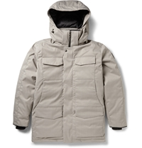 Canada Goose Branta Windmere Down Filled Coat Gray