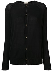 Ma'ry'ya Classic Slim Fit Cardigan Black