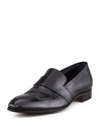 Gravati Slip On Loafer With Elongated Blind Keeper Black Black 11.0D