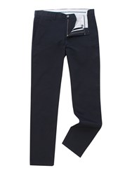 Linea Chelsea Regular Fit Chino Trousers Black