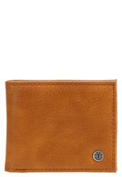 Element Bowo Wallet Rust Brown Light Brown