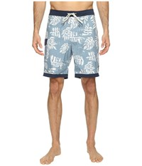Vans Model T Boardshorts 19 Blue Ashes Men's Swimwear
