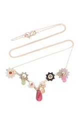 Alice Cicolini Summer Snow Dark Branch Layering Necklace Pink