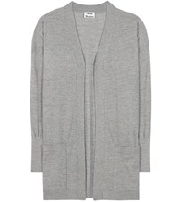 Acne Studios Corta Wool Cardigan Grey