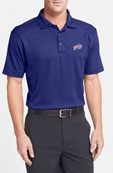 Cutter Buck 'Buffalo Bills Genre' Drytec Moisture Wicking Polo Big And Tall Tour Blue