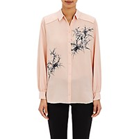 Foundrae Women's Pleated Back Shirt Pink