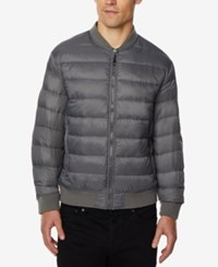 32 Degrees Men's Packable Bomber Jacket Asphalt