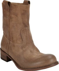 Barneys New York Egan Slouchy Ankle Boots Nude