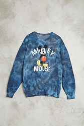 Forever 21 Tie Dye Mickey Mouse Pullover