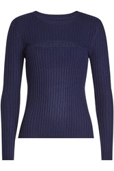 Frame Denim Pullover With Wool