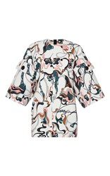 Marni Printed Patch Pocket Tunic Multi