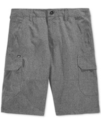 Fox Men's Slambozo X Dye Hybrid Tech Shorts Charcoal