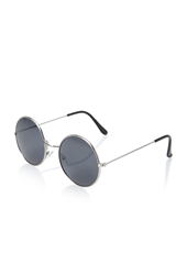 Forever 21 Round Metal Sunglasses Silver
