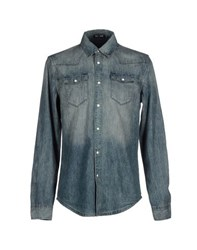 Blk Dnm Denim Denim Shirts Men