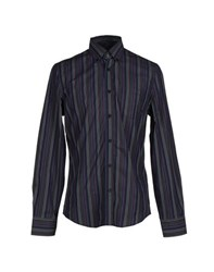 Trussardi Jeans Shirts Shirts Men Purple