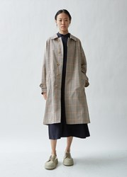 Mackintosh Checked Twill Rain Coat Bnoc