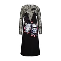 Prada Frankenstein Dress Nero