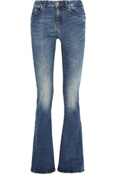 Mih Jeans The Bodycon Marrakesh Mid Rise Flared Jeans