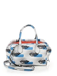 Prada Lip Print Leather Inside Bag