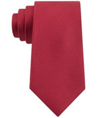 Geoffrey Beene Bias Stripe Solid Tie Red