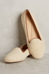 Anthropologie Chatelles Sherpa Loafers Neutral