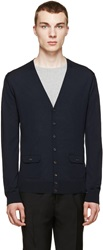 Dsquared Navy Pocket Cardigan