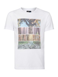 Army And Navy Seasons Graphic Tee White