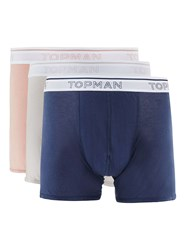 Topman Multi Assorted Colour Trunks 3 Pack