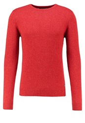Petrol Industries Jumper Ox Blood Red