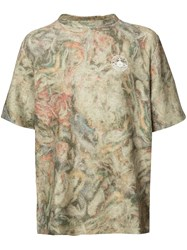 Vivienne Westwood Man Military Mess T Shirt Brown