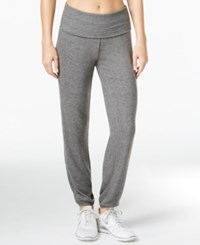Ideology Knit Jogger Pants Only At Macy's Dark Pewter Heather