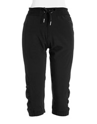 Calvin Klein Cropped Performance Pants Black