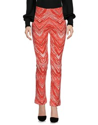 Missoni Casual Pants Red