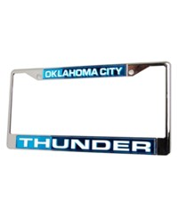 Rico Industries Oklahoma City Thunder License Plate Frame Team Color
