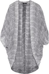 Tart Collections Kyoto Printed Chiffon Coverup Gray