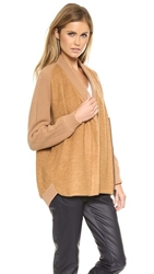 O'2nd Patched Loose Jacket Camel