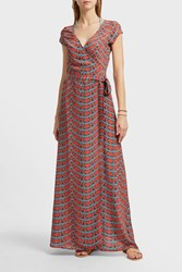 Paolita Printed Wrap Dress