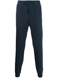 Iceberg Drawstring Track Trousers Blue