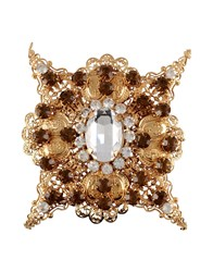First People First Jewellery Brooches Women Gold