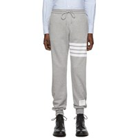 Thom Browne Grey 4 Bar Classic Lounge Pants