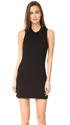 Cotton Citizen Monaco Mini Dress Jet Black