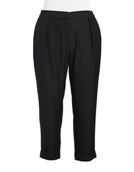 Dknyc Plus Plus Rolled Cuff Pants Black