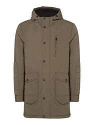 Criminal Men's Renton Parka Dark Khaki