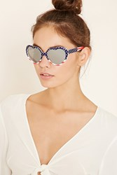 Forever 21 Heart Shaped Sunglasses